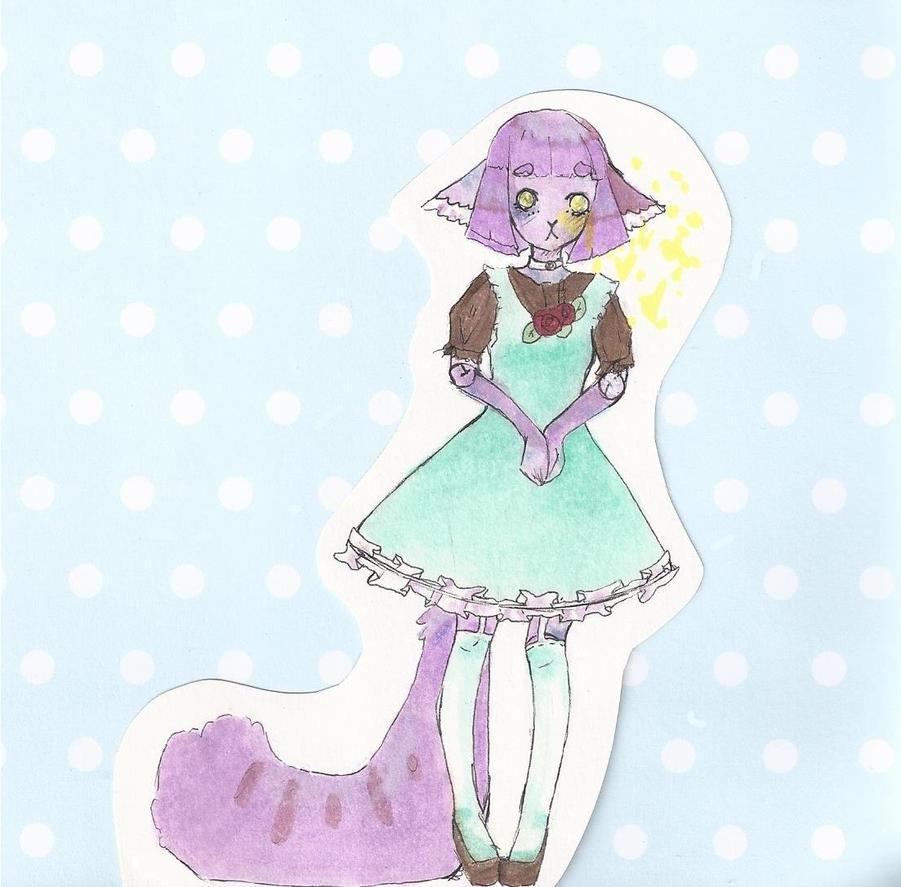 pastel dress cutie by sawarineko
