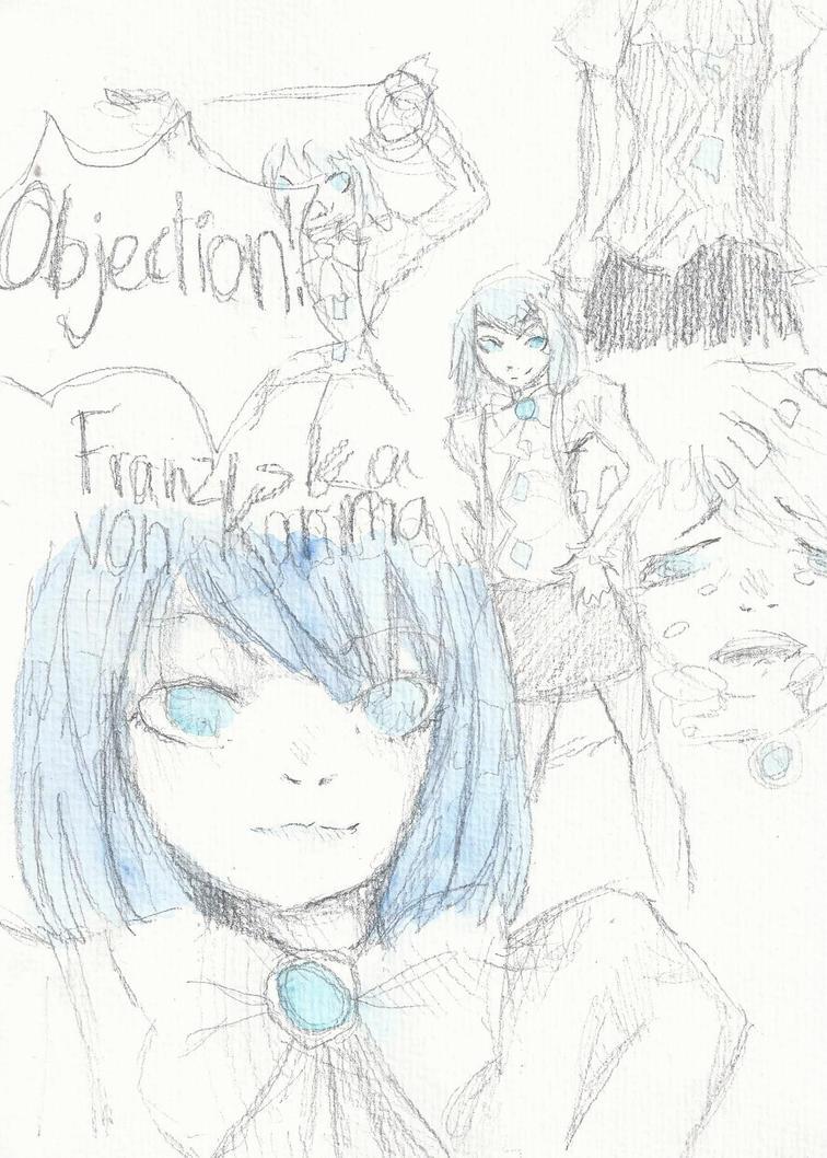 franziska doodle page by sawarineko