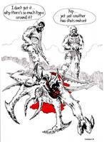 Diablo vs Stalker by Radomski