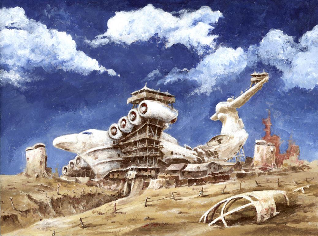 Outpost by Radomski