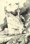 Scribbles#9 (Landcruiser)