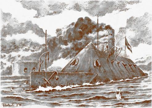 The Battle of Hampton Roads