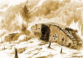 Beutepanzerwagen IV by Radomski