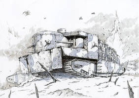 Foster's Battletank by Radomski