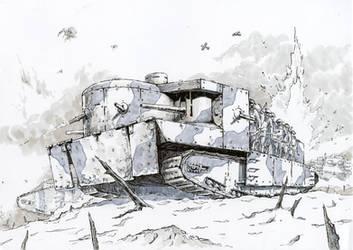 Foster's Battletank