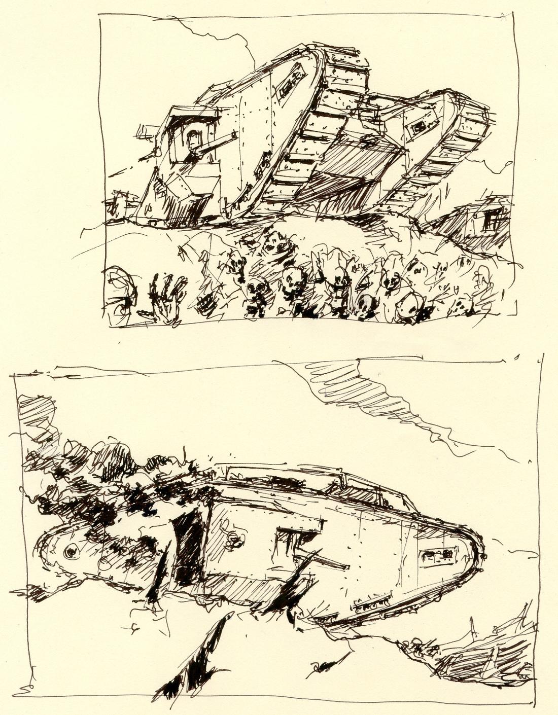 scribbles#10 by Radomski