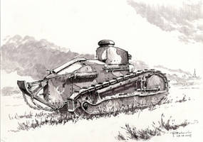 The Renault FT in the Polish service by Radomski