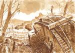 Villers-Bretonneux, 24 April 1918 by Radomski