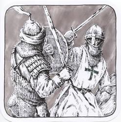 scribbles#18 [The Leper Brother of Jerusalem]
