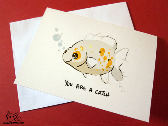 You are a catch card by squidbrains