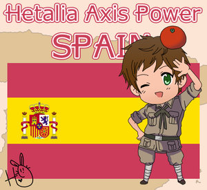 Hetalia Axis Power Spain by leadervance by crazzzychic