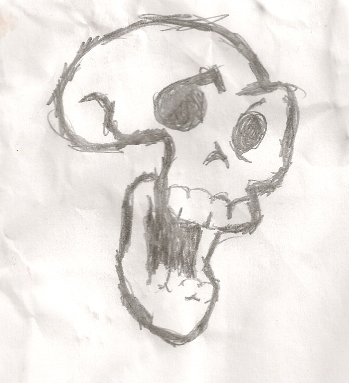Skull on google i had to draw by That--Awesome--Guy on ...