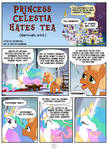 Princess Celestia hates tea - page 1