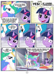 Princess Celestia hates tea - page 5