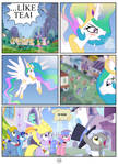 Princess Celestia hates tea - page 15