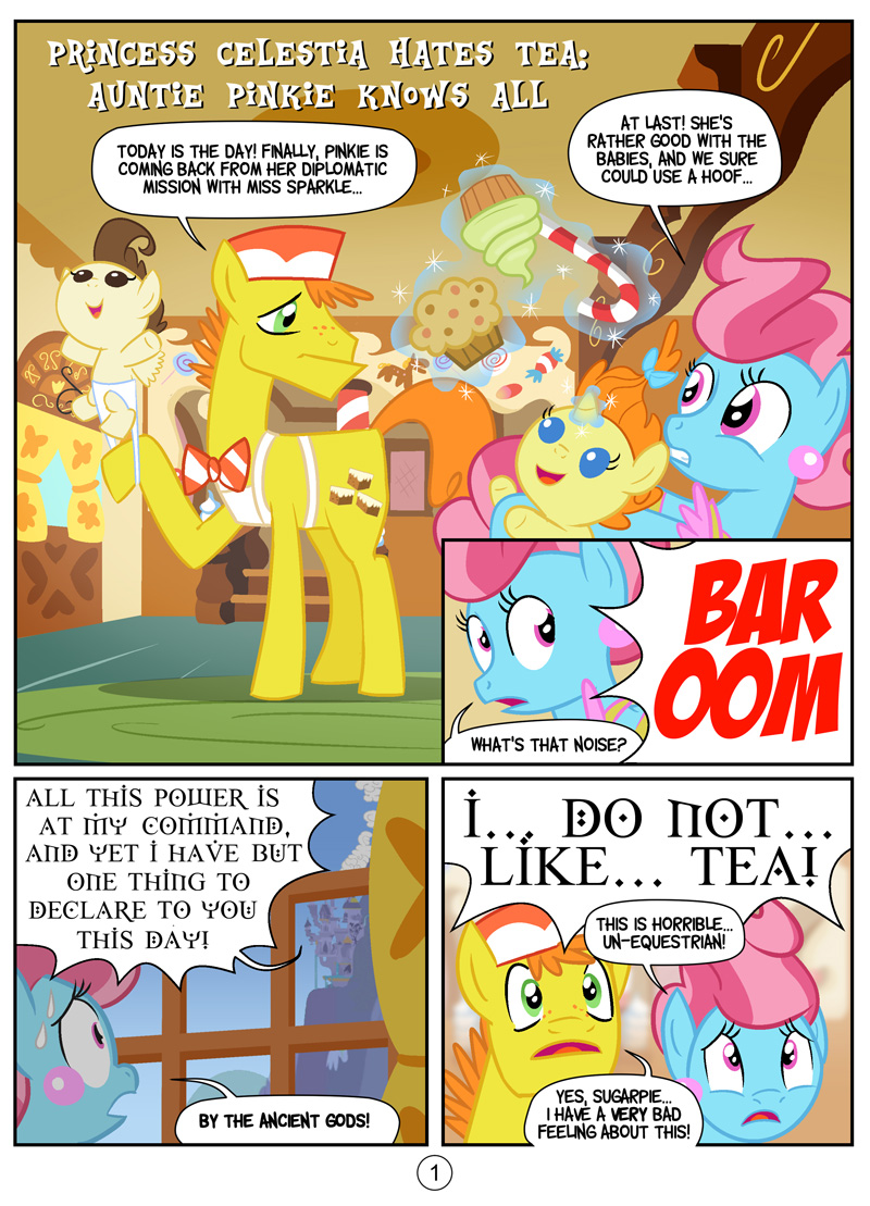 Auntie Pinkie Knows All, page 1