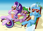 Chilling Out - When the Mane 6 aren't around