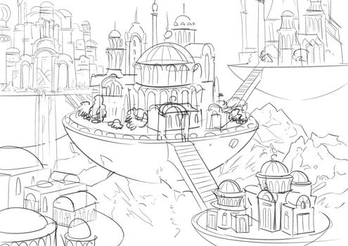 New project: background  sketch