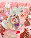 Bubblegum the Jackalope