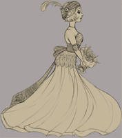 A Flapper's Wedding by Foxsnout45