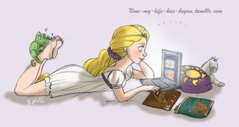 Rapunzel Blog by Foxsnout45