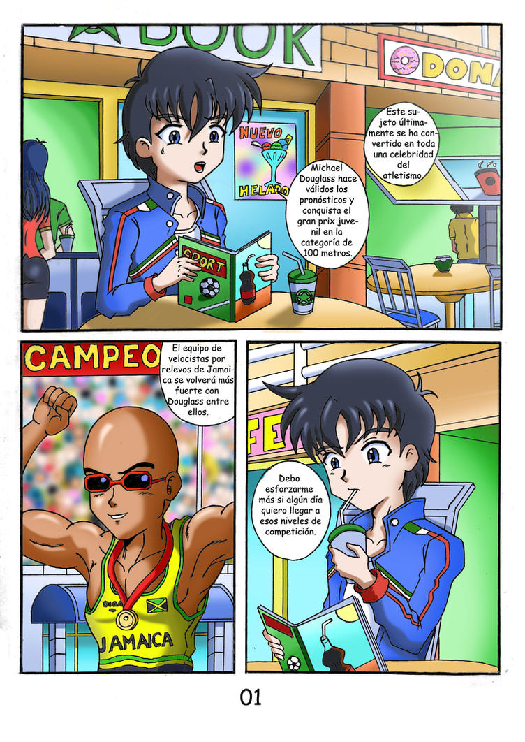 Battle Ninja-C1pag.01 latino by Cesaru33