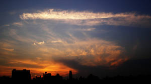 New York Sky by Samtheengineer