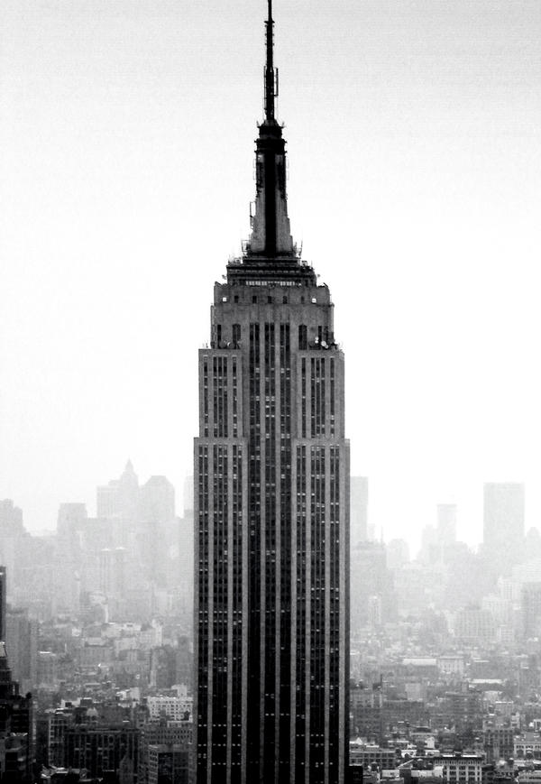 Misty Empire State by Samtheengineer