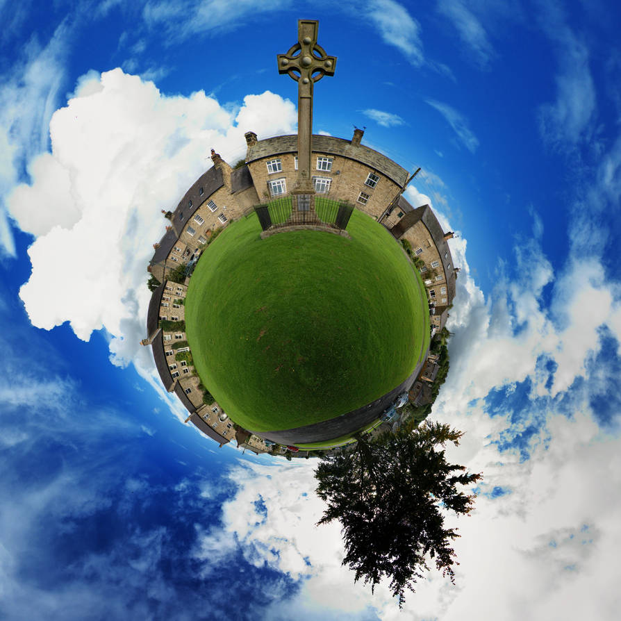 Wall Little Planet by Samtheengineer