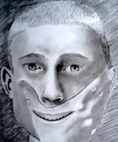 Self Portrait 2 - Secret smile by Samtheengineer