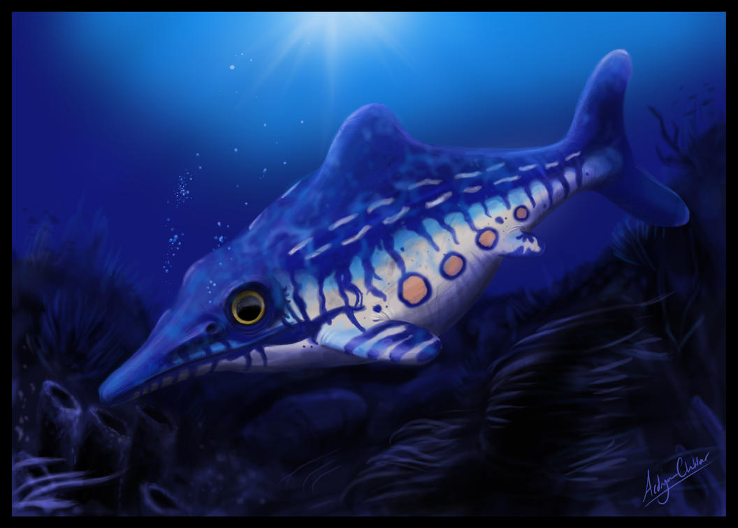 Ophthalmosaurus by froggywoggy11 on DeviantArt