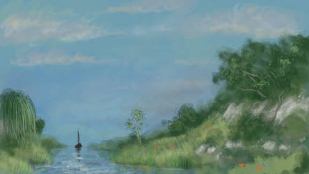Landscape by froggywoggy11