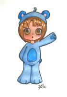 Little Bear Blue by ColourBUG