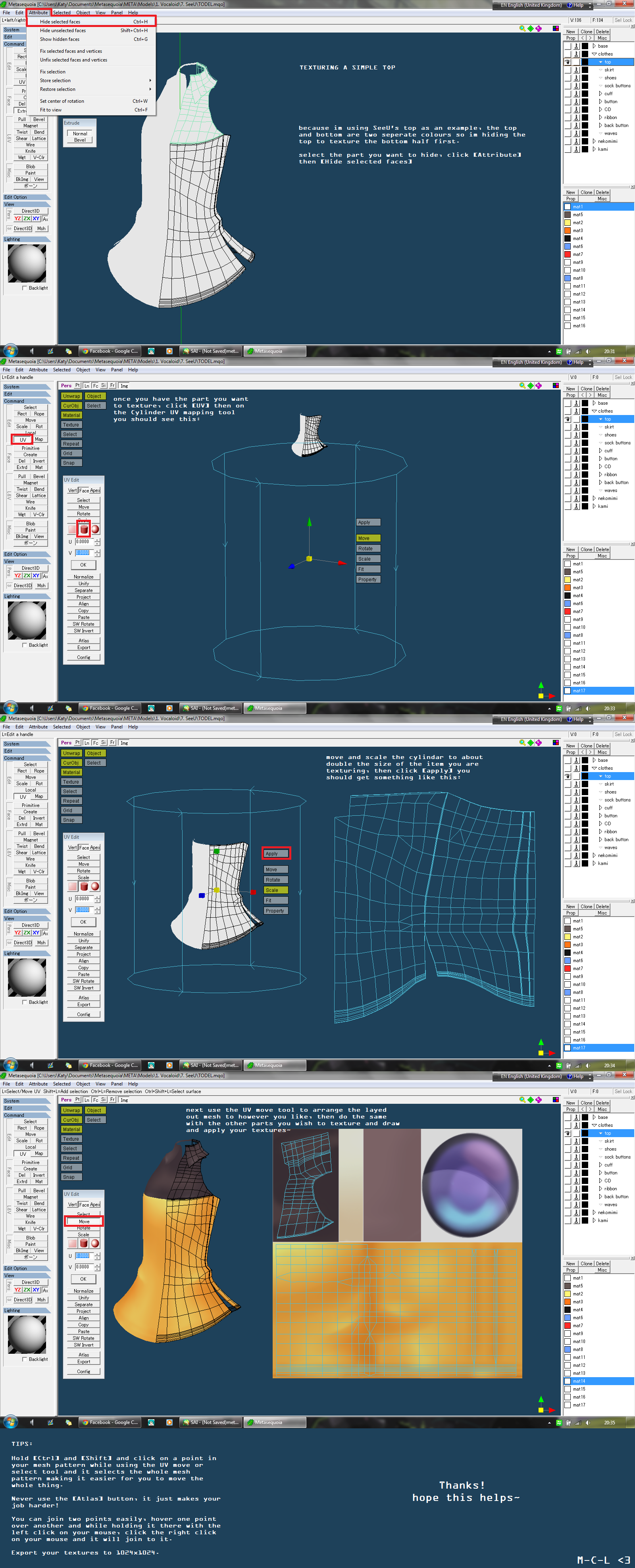 BASIC TEXTURING TUTORIAL by MMD-MCL
