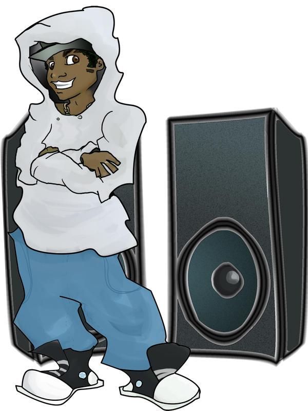 speaker boy by lozfitzy