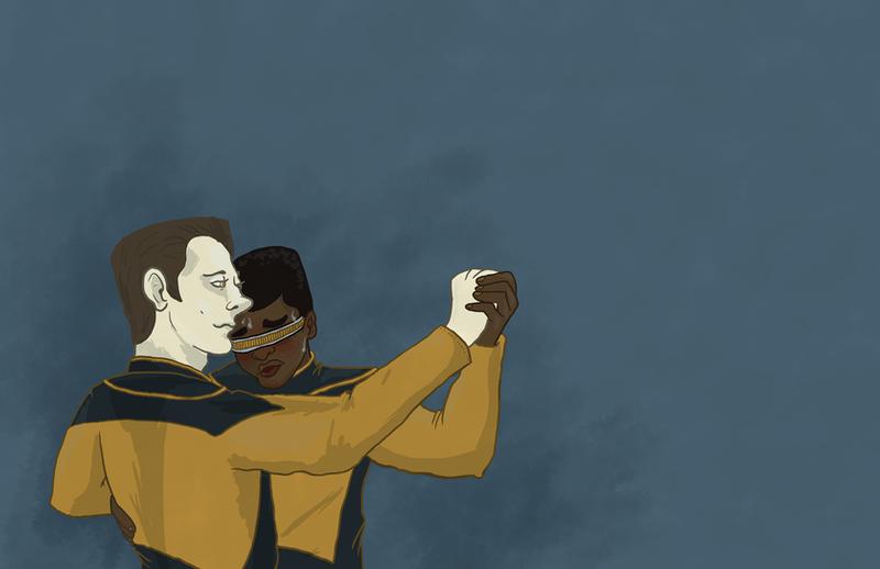 Star Trek by RedFieldsOfNone