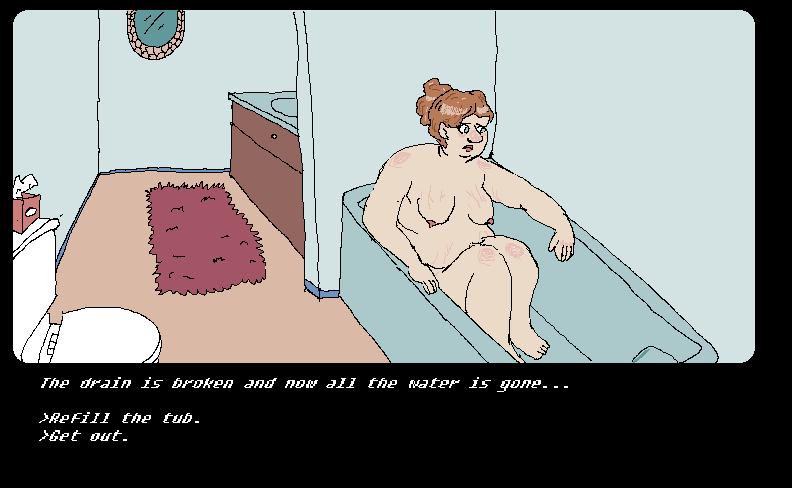 Bathtime Woes by RedFieldsOfNone
