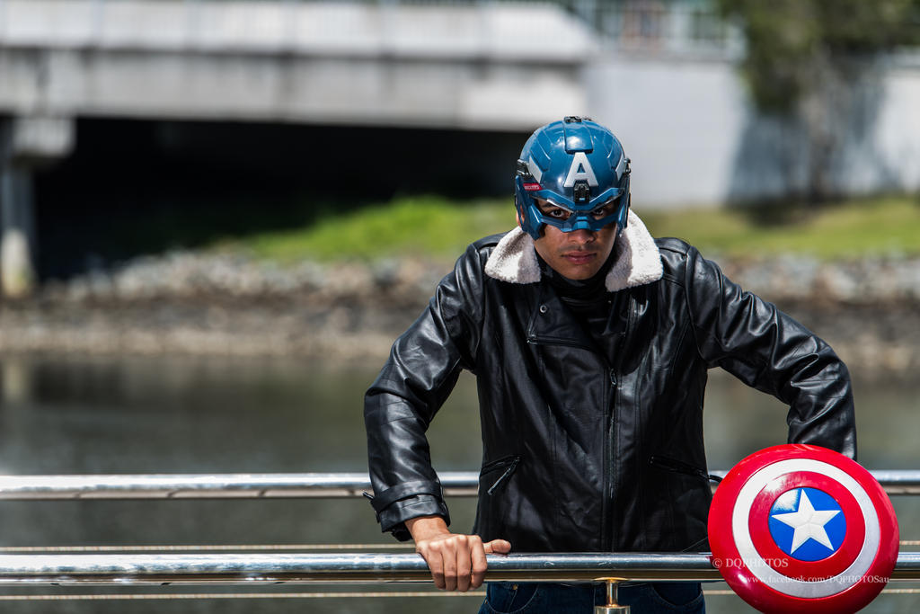 captain america Cosplay by slayer500