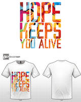 hope keeps you alive by wahban