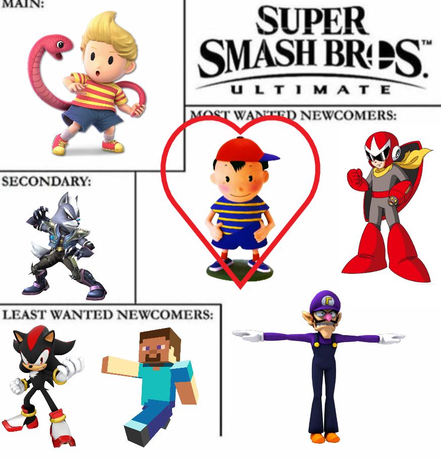 Super Smash Bros Ultimate Meme My Version By Mrschienenzeppelin