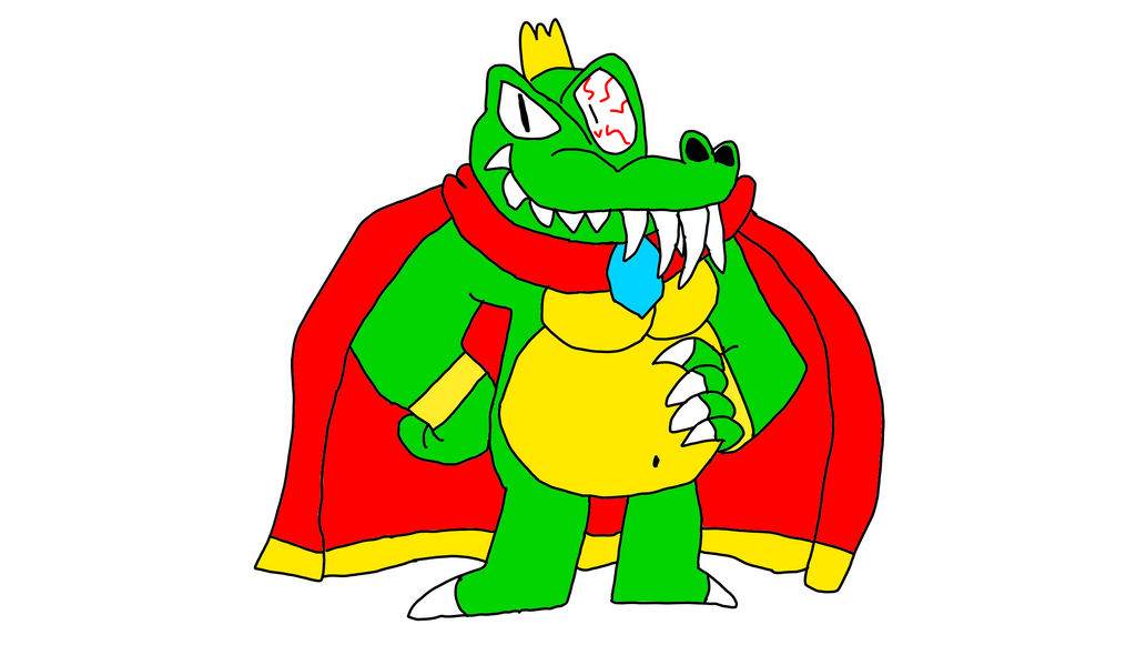 King K Rool by camronplay