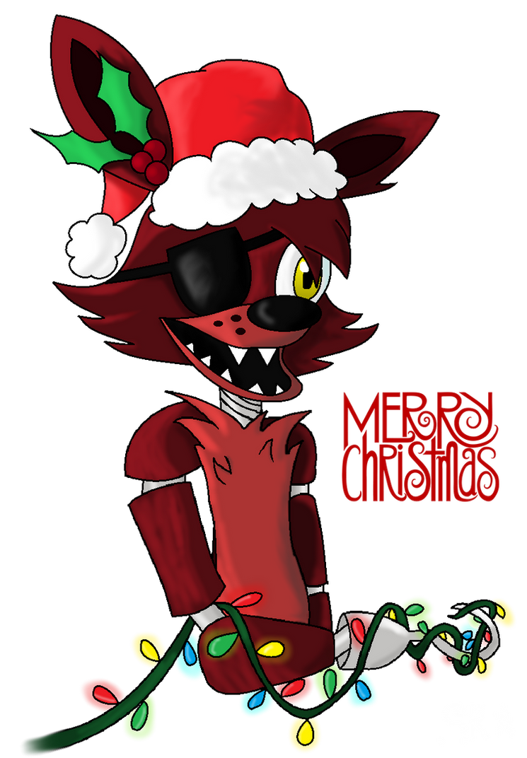 Five Nights at Freddy's Christmas Foxy by StarlightRaven14 on ...