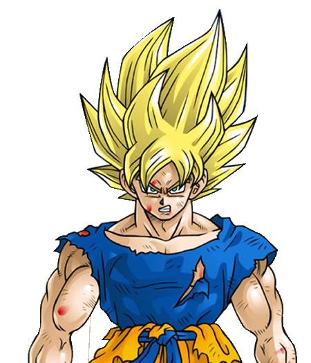 Anyone else feel like Super Saiyan God Goku shouldve