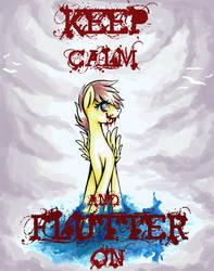 .:AT:. GrayPaint | Hello, I'm Fluttershy... by Majkarogo