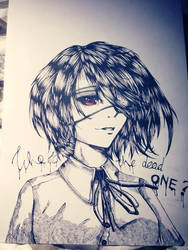 Misaki by Majkarogo