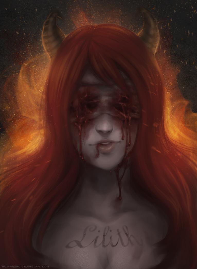 Lilith By Majkarogo Bindingofisaac