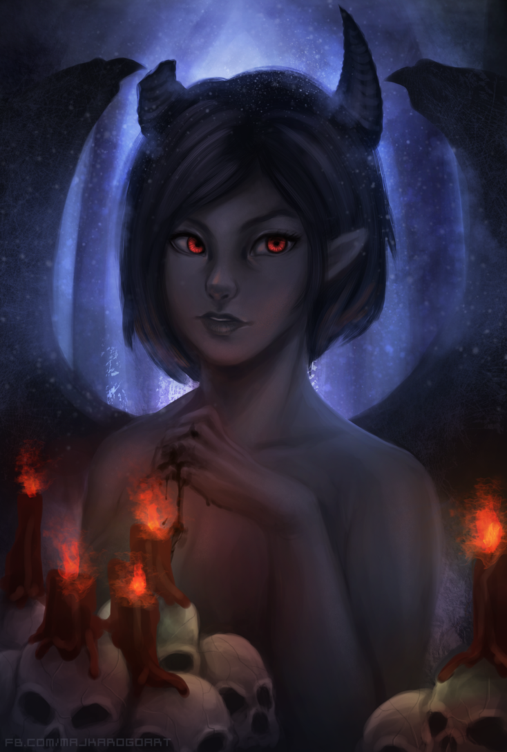 Female Azazel by Majkarogo