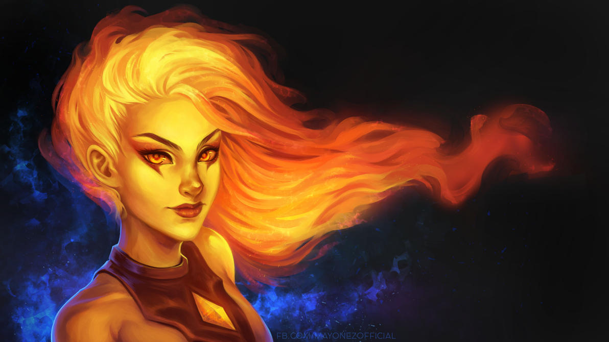 Infernal Diana by Majkarogo