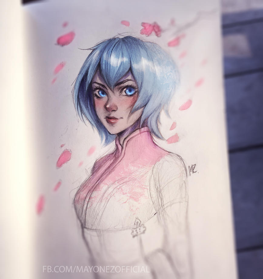 Sakura~ by Majkarogo
