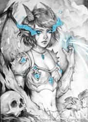Demon by Majkarogo